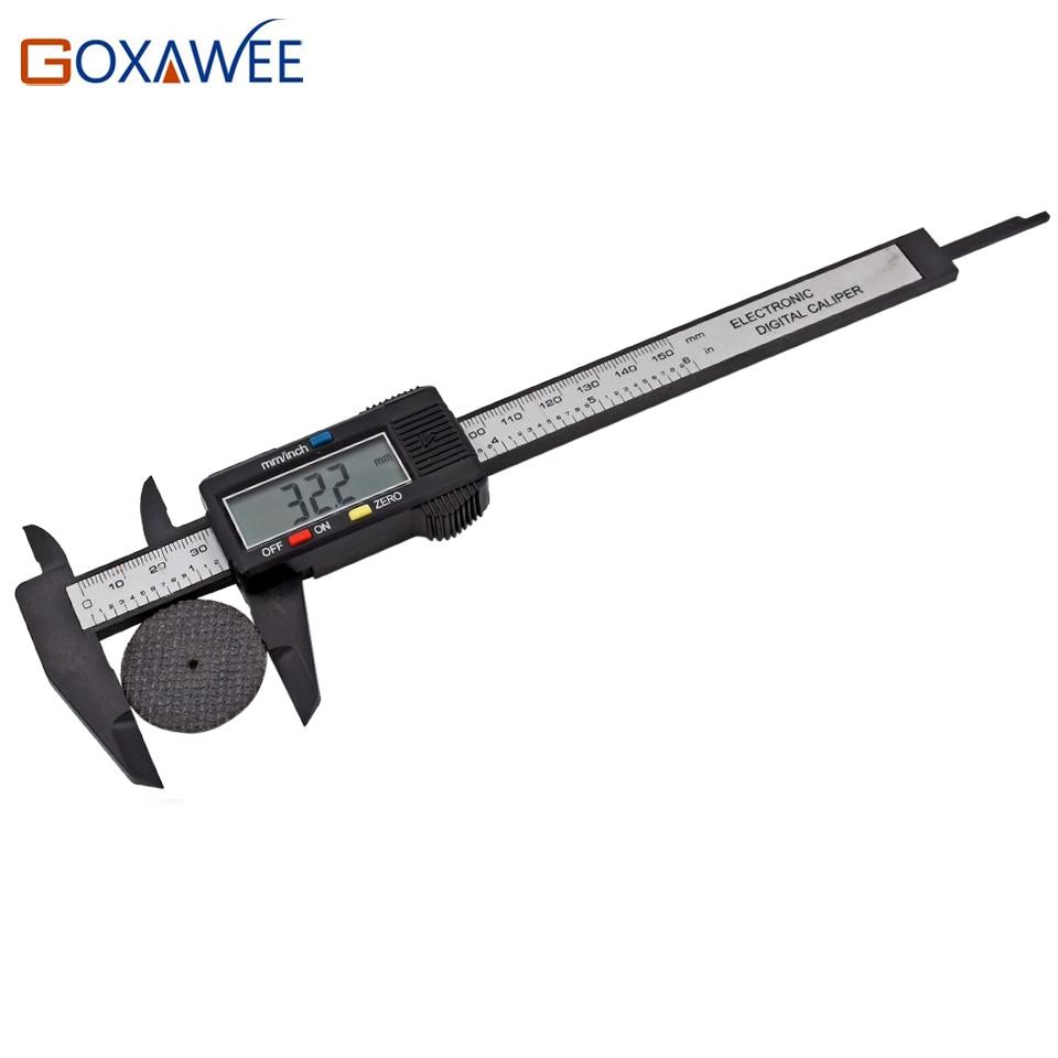 GOXAWEE 150mm 6 pollici digitale elettronico in fibra di carbonio - Strumenti di misura - Fotografia 5
