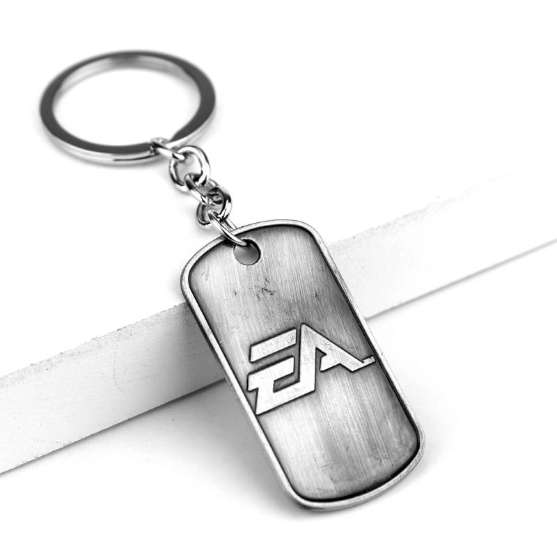 Battlefield 4 Keychain 2017 NEW Men Key Rings Holder Gift Chaveiro Car Key Chain Jewelry Game Souvenir
