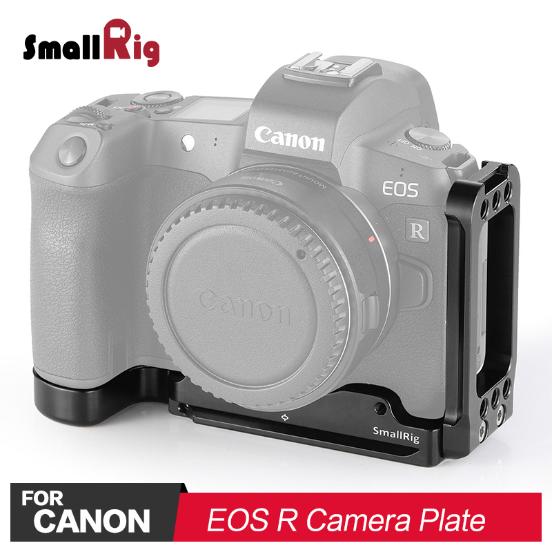 SmallRig DSLR Camera L Plate L Bracket for Canon EOS R Camera Feature with Arca Style