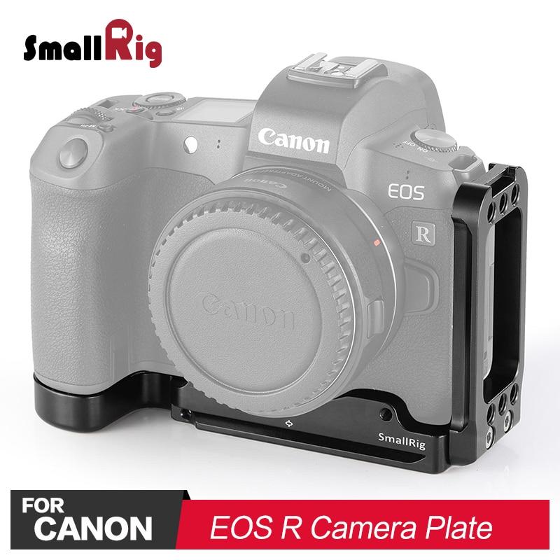 Petite caméra DSLR L plaque l-support pour Canon EOS R appareil photo avec plaque de Style Arca libération rapide avec trépied 2257