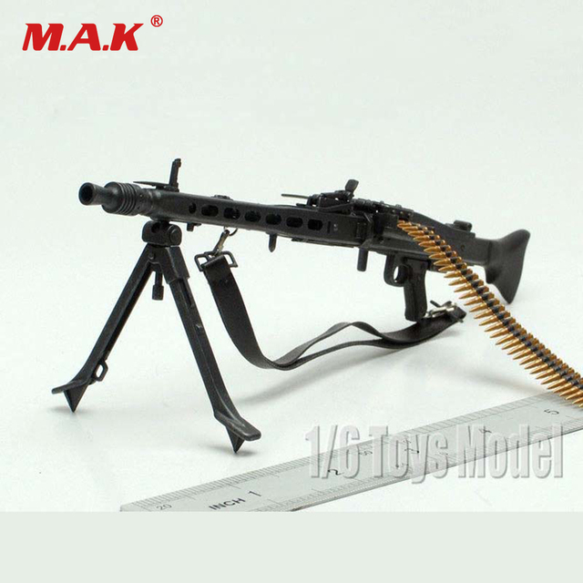 1 6 scale toy gun waffen drachen wwii deutsche mg42 maschinengewehr modell. Black Bedroom Furniture Sets. Home Design Ideas
