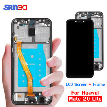 LCD For Huawei Mate 20 Lite Original LCD Display Touch Screen Digitizer Assembly Replacement Mate 20lite Mate20 Lite With Frame original 5pcs for huawei ascend mate7 mate 7 lcd display touch screen digitizer high quality assembly frame with logo free dhl