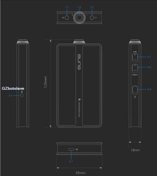 Amplificatore Per Cuffie Portatile | Aune B1 Separato Pura Classe A Amplificatore Orecchio Portatile HIFI Amplificatore Per Cuffie Portatile Amplificatore Orecchio