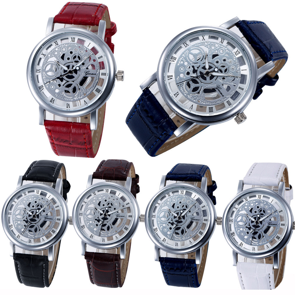 Womens Watch Women Special Dial Design Best Selling Clock Gift Hollow Analog Quartz Stainless Steel Wrist Watch Watches