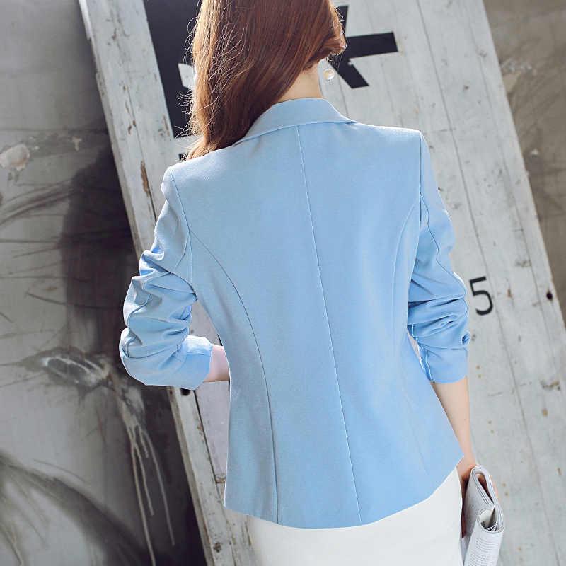 2018 الربيع و الصيف نمط جديد الكورية اللباس ، المرأة دعوى ، طويلة دعوى ، عارضة أزياء ، بدلة الصغيرة ، معطف للسيدات.