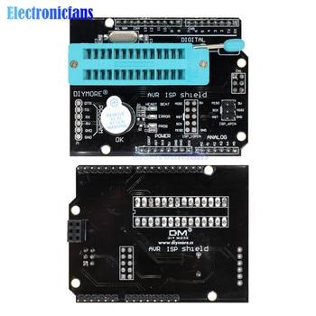 AVR ISP programowalna tarcza rozszerzająca z brzęczykiem dla arduino uno R3 Mega2560 Pro Mini Atmega328P Bootloader Burner moduł SPI