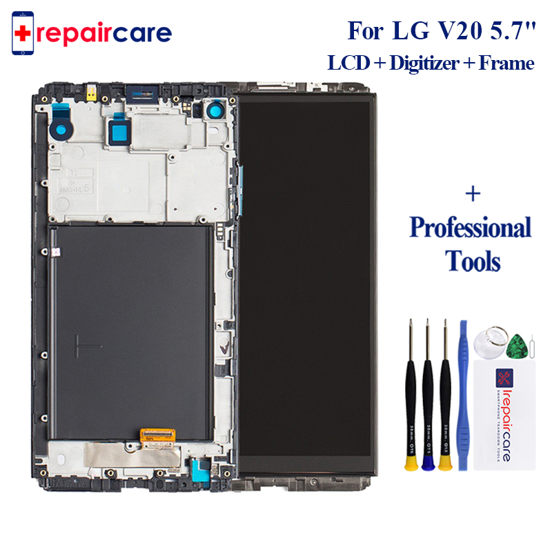 For <font><b>LG</b></font> <font><b>V20</b></font> LCD <font><b>Display</b></font> VS995 VS996 LS997 H910 Touch Screen Digitizer With Frame Full Assembly Replacement Parts image