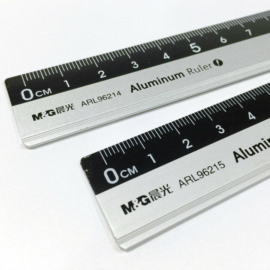 Cute Cartoon pattern Aluminum alloy Metal Ruler Straight Rulers For School Office 15-20cm  drawing tool Metal Rulers