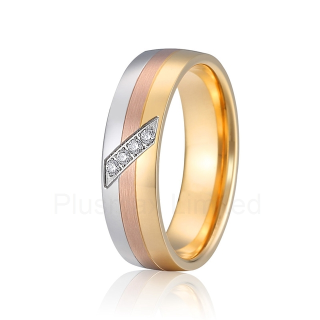 designer wedding band engagement rings for women color silver rose