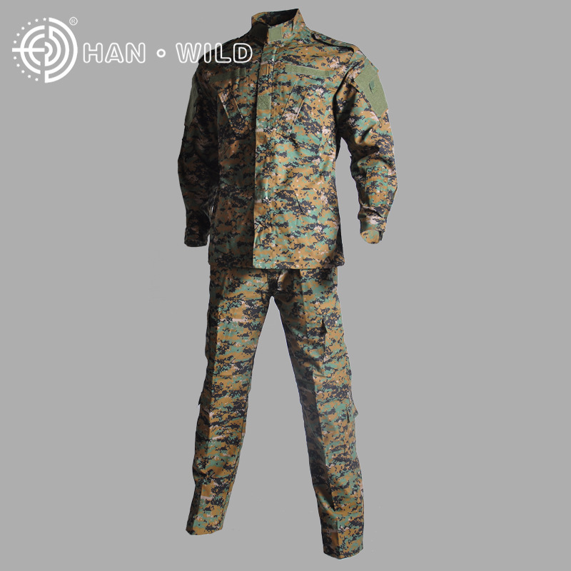 Military Uniform Jacket + Pants Outdoor Airsoft Paintball Multicam Tactical Ghillie Suit Camouflage Army Combat Hunting Clothes