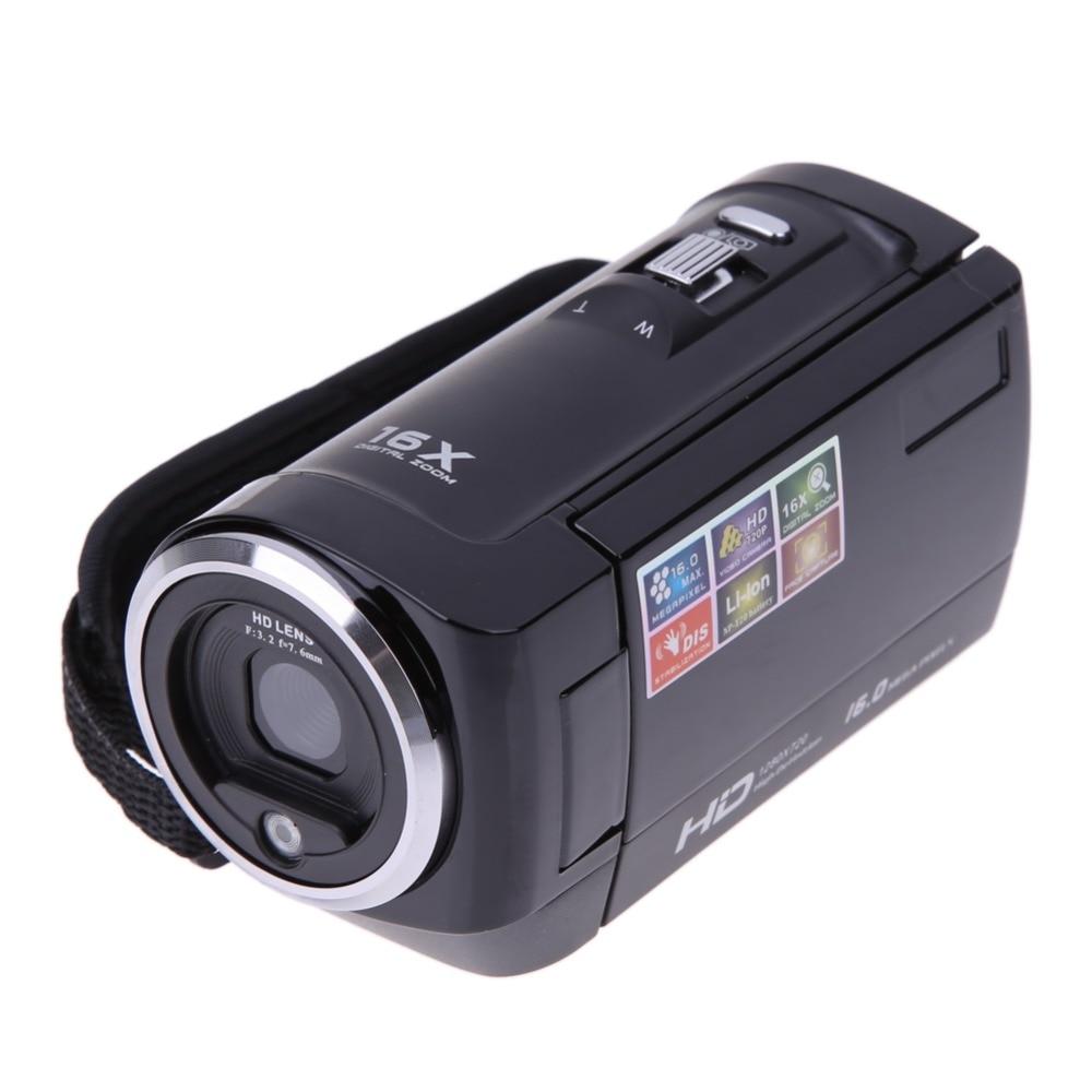 ALLOET HD 720P 16MP 8X Digital Zoom Camera Video Camcorder DV DVR 2.7 270 Degree Rotation TFT LCD Screen USB 2.0 Camcorders DV hot sale easy use hd 720p 12m 8x digital zoom video camcorder camera gift for family happy recording 1pc
