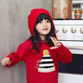 autumn winter children warm sweat shirts boys girls thicken velvet hoodies shirt kids cute soft coat