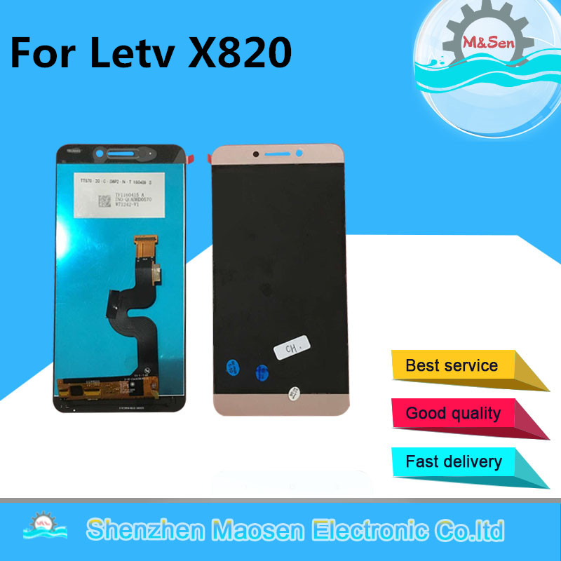 Original M&Sen For Letv <font><b>Le</b></font> Max 2 <font><b>X820</b></font> X821 X822 X823 X829 LCD <font><b>Screen</b></font> Display+Touch Panel Digitizer For Letv <font><b>X820</b></font> Assembly image