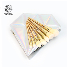 ENERGY Brand 7pcs Rose Gold Makeup Brushes Make Up Brush Set Brochas Maquillaje Pinceaux Maquillage Pincel Maquiagem B07SP