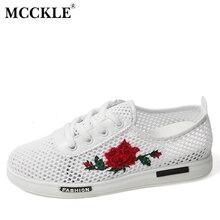 Mcckle/2017 г. модные женские туфли с резным узором сетки вышивать Dentelle до Chaussures женский цветочный повседневная обувь на плоской подошве женская обувь