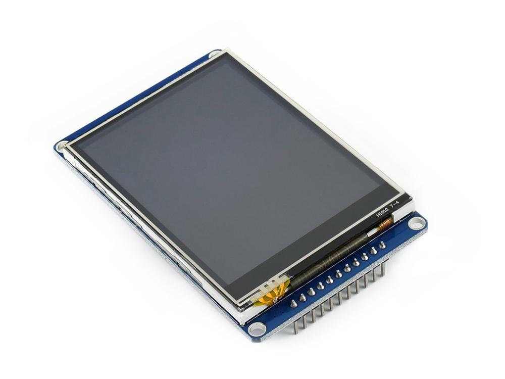 Waveshare 2.8inch 320×240 Pixels IPS LCD, Resistive Touch, <font><b>SPI</b></font> Interface image
