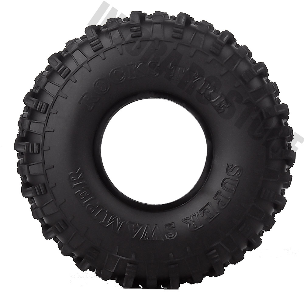 """Image 2 - 4PCS/Set 120MM 1.9"""" Rubber Wheel Tires 1/10 RC Crawler Car for Traxxas TRX 4 Axial SCX10 90047 D90 D110 TF2-in Parts & Accessories from Toys & Hobbies"""