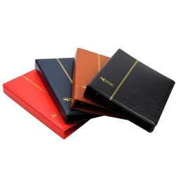 3 Hole leather empty coin album paper money Most 20 sheets Commemorative Coin Collection album Folder books books for coins