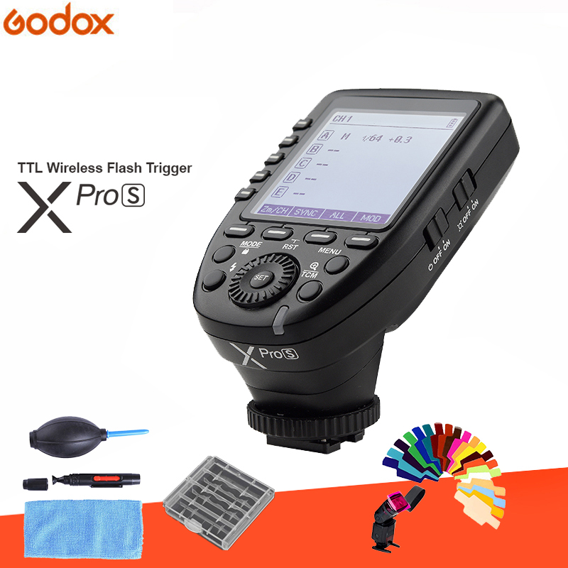 In the Stock!!! New Arrival Godox TTL II 2.4G Wireless X system High-speed with Big LCD Screen Transmitter Xpro-S For Sony in the stock new arrival godox i ttl ii 2 4g wireless x system high speed with big lcd screen transmitter xpro n for nikon