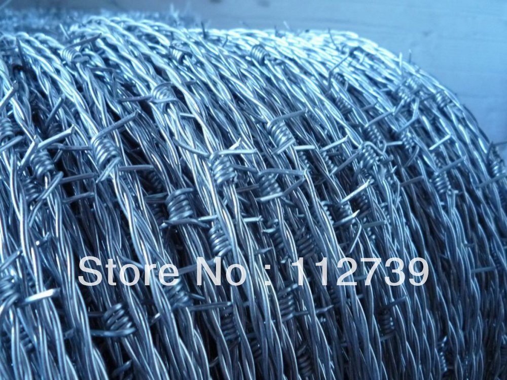25Kg a roll Barbed Wire, Barbed Length 4\
