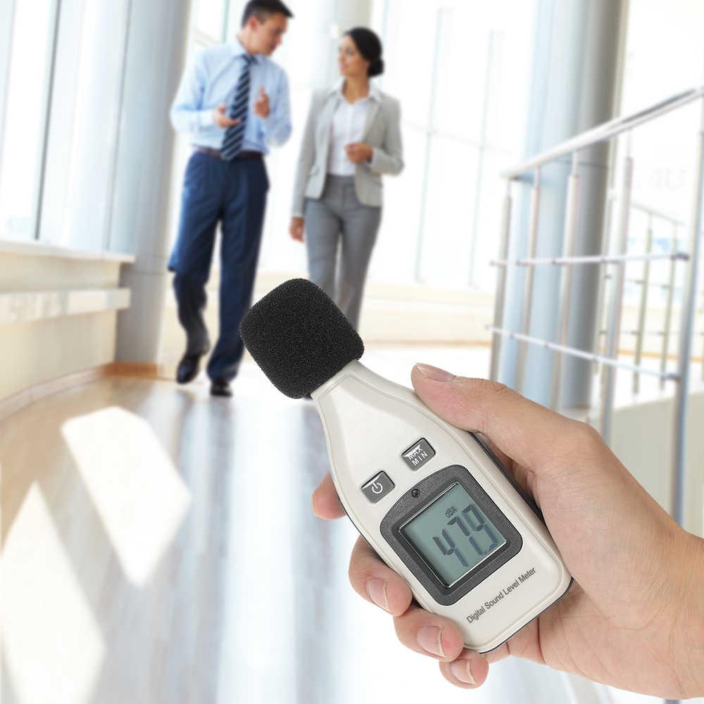 Digital medidor de nível de som decibel registrador de ruído analisador de dados 30-130db registrador de dados de nível de som testador gravador de decibel diagnóstico-ferramenta