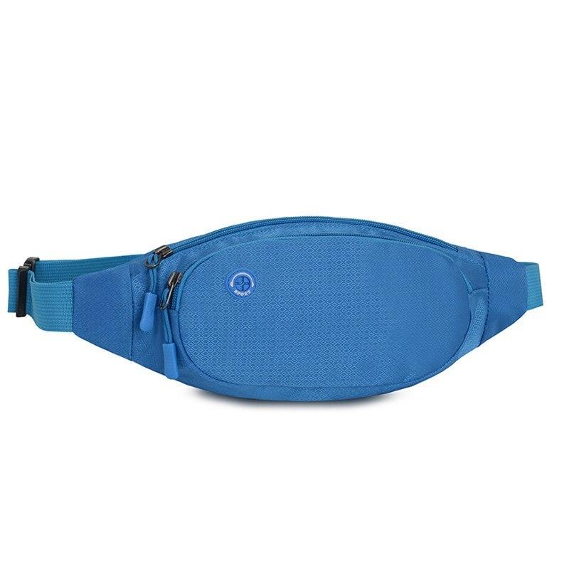 Men Women Pouch Wallet Sport Bag Fanny Pack Travel Waist Money Belt Zip Waterproof Hiking Running Outdoor Sport Small Bag