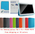 Original Business Ultra Slim Thin Leather Case BOOK Cover For Samsung Galaxy Tab 3 10.1 P5200 P5210 free shipping