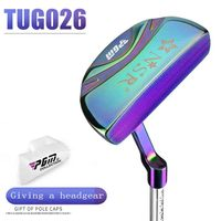 Pgm Genuine New Womens Golf Club NSRII Lady Putter Stainless Steel Shaft Zinc Alloy Distribution Head Hood Driver Club Exercise