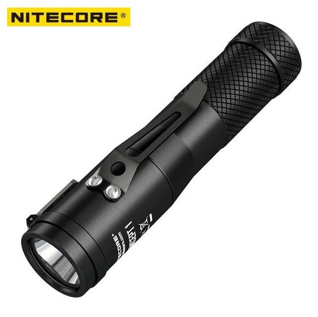 NITECORE Concept 1 1800 Lumen CREE XHP35 HD E2 LED High Power Flashlight 220Meter Beam Distance