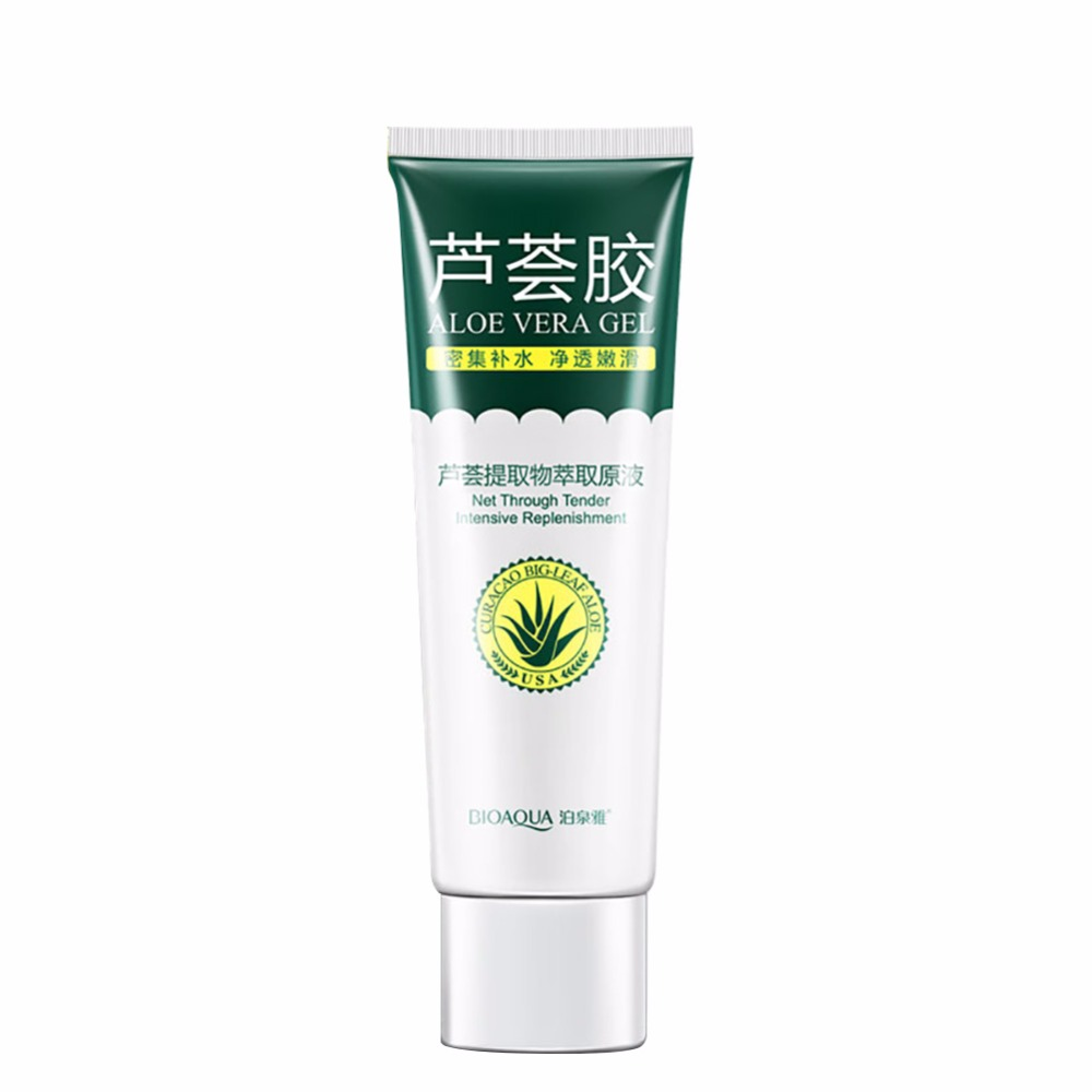 aloe vera gel skin care brand bioaqua face cream hyaluronic acid anti winkle whitening. Black Bedroom Furniture Sets. Home Design Ideas