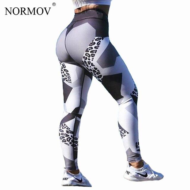401a3f20073a2 NORMOV Sexy Leopard Print Leggings Women Pants Sporting Fitness Legging  Fashion Workout Skinny Jeggings Digital Print Leggins