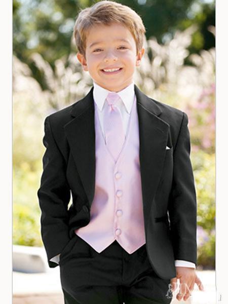 Custom Made Kid Tuxedos Complete Designer Boy Wedding Suit Boys Attire Children S Clothing