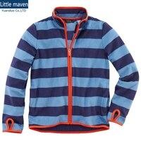 소년 전체 우편 양털 재킷 극지 소년 양털 재킷 봄