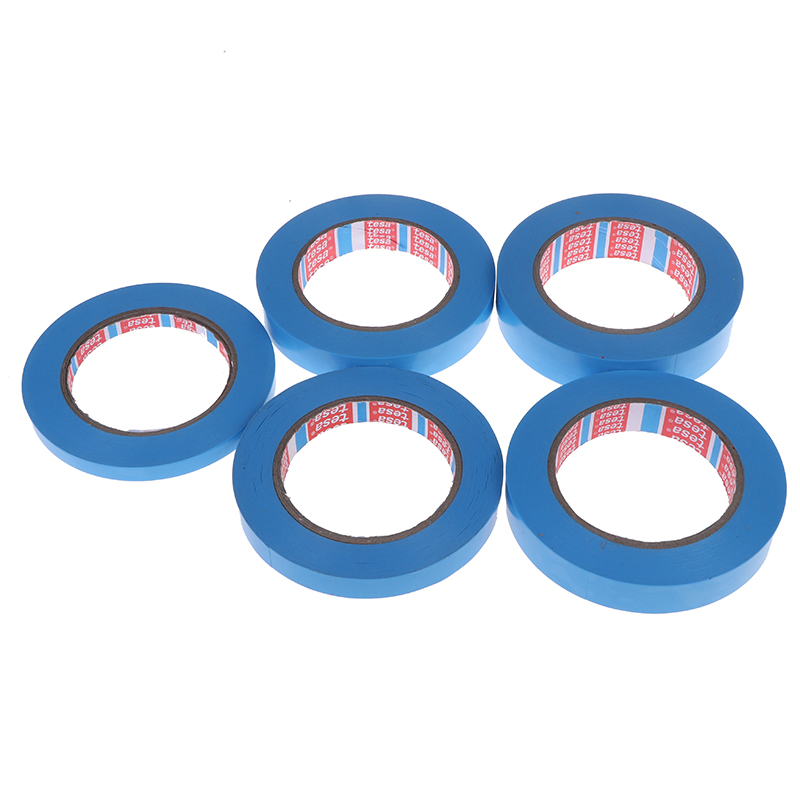 1 Roll Of Blue Refrigerator Tape Appliance Facsimile Printer Air Conditioning Parts Fixed Tape 50M No Trace Single-Sided Tape
