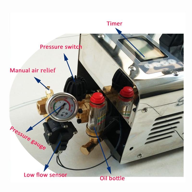 A227 1L/min 60bar máquina de niebla motor de pulverización de agua para sistema de nebulización de refrigeración de patio-in Pulverizadores from Hogar y Mascotas    2
