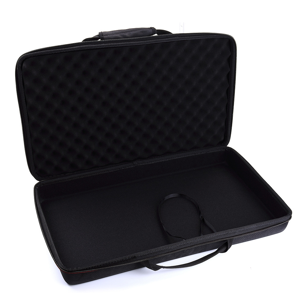 Hard Shell Exterior Newest Eva Hard Carry Case For Numark Party Mix Starter Dj Controller Built In Travel Handle Padded Foam