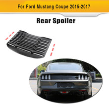 Rear Window Louver Air Vent Black Sun Shade Visor Cover for Ford Mustang 2015 2016(Hong Kong,China)