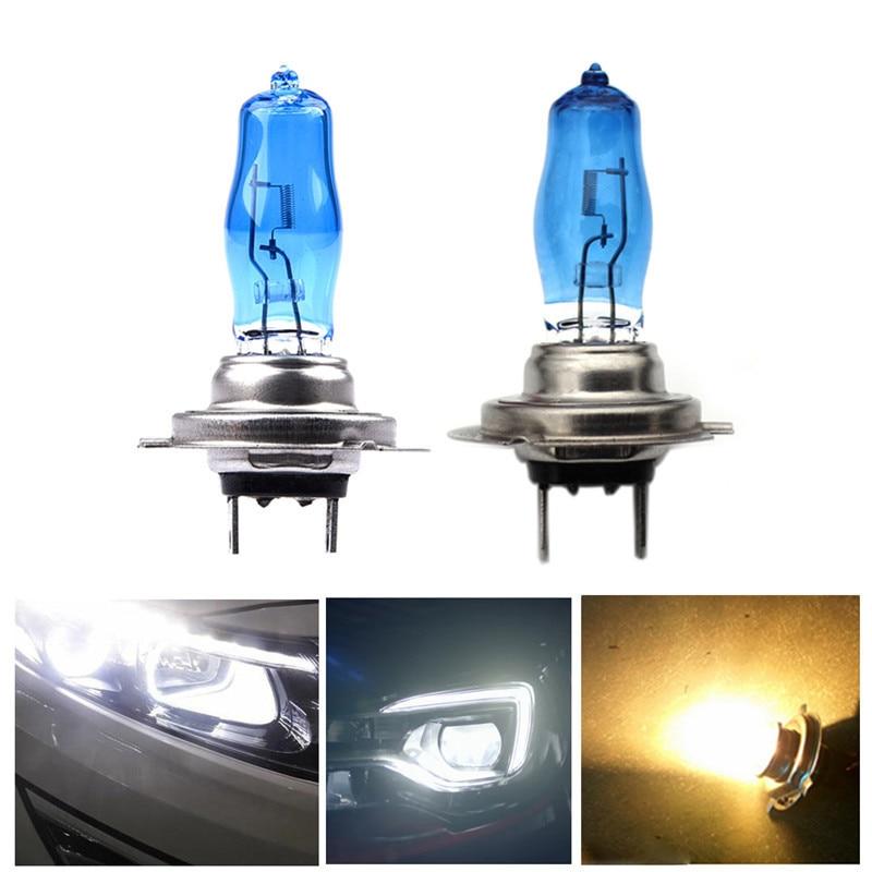 2Pcs H7 High Quality Auto Car Headlights Xenon 55W 100W Sun Ultra-white Light 4500K 6000K Fog Halogen Bulb Car Headlamp J3