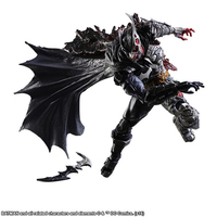 Batman PlayArts PA Kai two face batman Rogues Gallery cool PVC action figures movable joint more partsin box free shipping