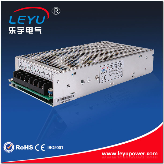 48VDC to 12VDC 100W dc/dc converter with CE RoHS approved,stable quality nice price SD-100C-12 dc dc converter rs232 to rs485 converter with optical isolation passive interface protection