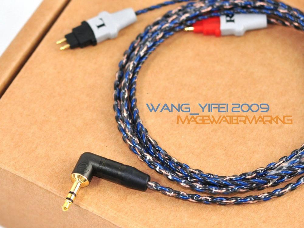 bilder für Handcrafted Upgrade HIFI Kabel Für SENNHEISER HD25 HD25 II HD25 SP HD25-1 Kopfhörer OCC Reinheit Erreicht 6N 99.9999%