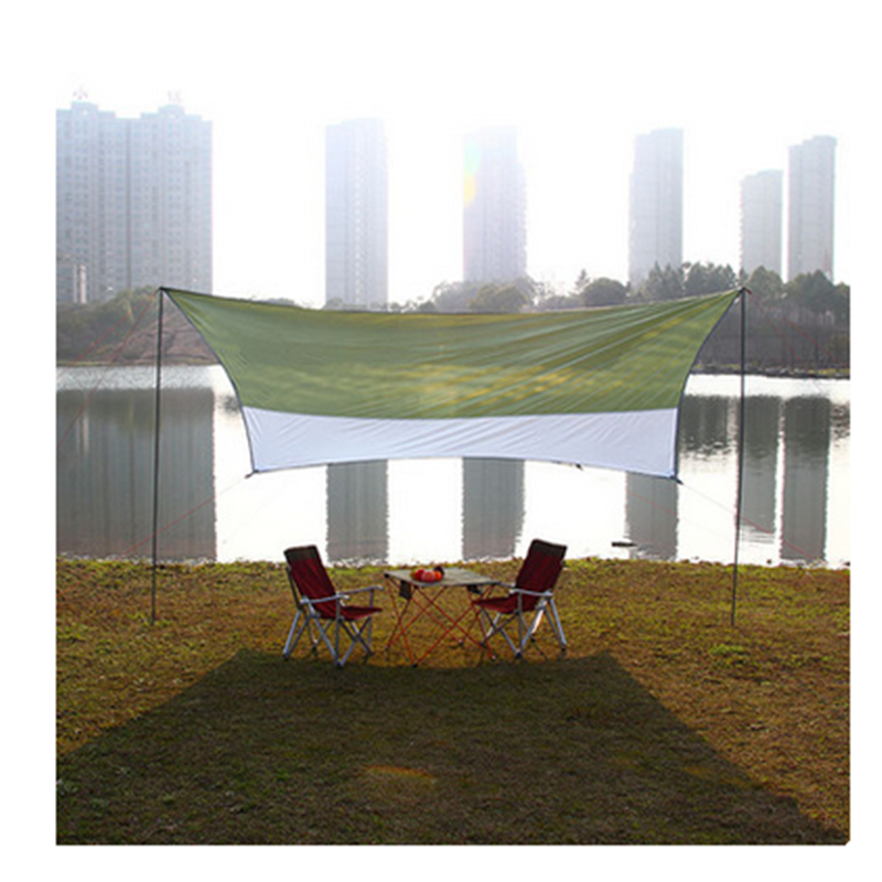 Camping Picnic Tent Beach Awning Sun Shelter Tent Outdoor Large Tent Pergola large outdoor camping pergola beach party sun awning tent folding waterproof 8 person gazebo canopy camping equipment