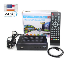 DMYCO Satellite receiver HD Digital DVB ATSC TV Tuner Receivable MPEG4 DVB-ATSC Tuner Free Shipping Support bisskey Korea Canada