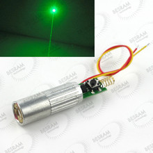INDUSTRIAL/LAB 3VDC 532nm Green Beam Laser Lazer 50mW Diode Module