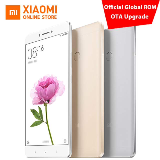 "Original Xiaomi Mi Max 6.44"" Mobile Phone Snapdragon 650 Hexa Core 1080P 16MP PDAF 3GB 32GB 4850mAh Official global rom"