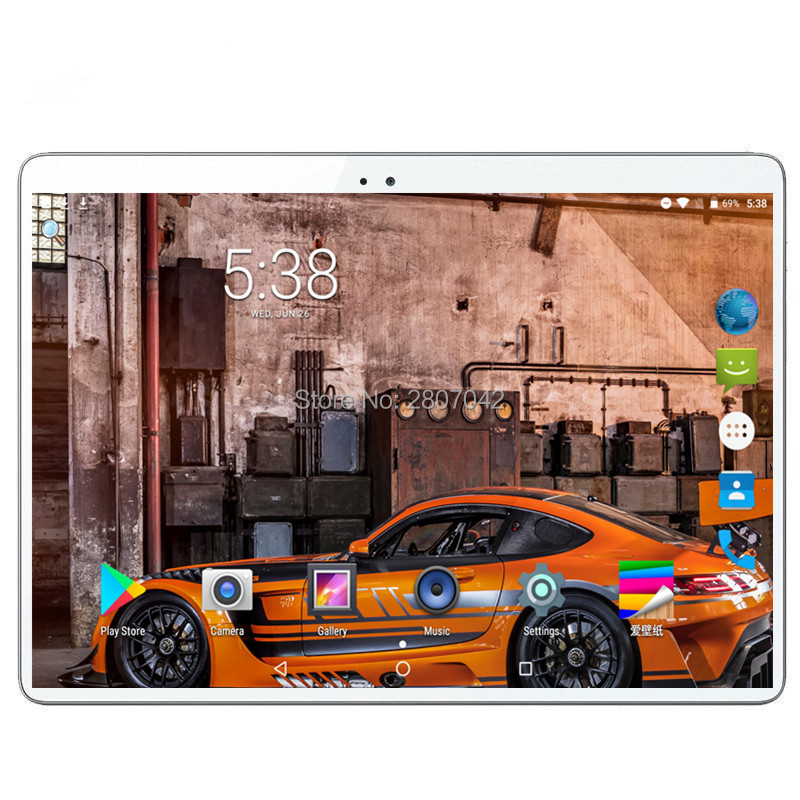 6G + 64 GB 10 pouces tablette PC 3G 4G Android 9.0 Octa Core Super tablettes Ram 6 GB Rom 64 GB WiFi GPS 10.1 tablette IPS S106 double SIM GPS
