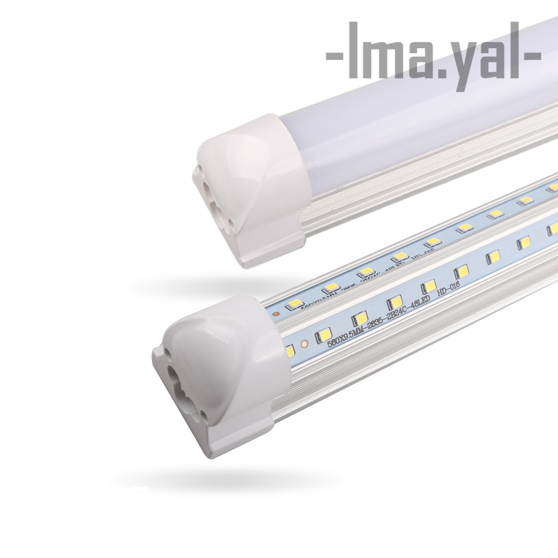 Led Bulbs & Tubes Objective 2pcs New V-shape Integrated Led Bulbs Tubes T8 600mm 20w 2 Ft Led Tube Light Ac85-265v 96leds Led Light Super Bright 2000lm Back To Search Resultslights & Lighting