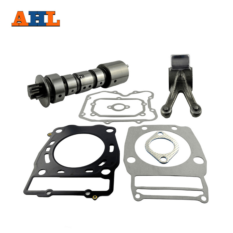 AHL Motorcycle Cam Shaft With Gasket Sets With Exhaust Rocker Arms Kits For Polaris SPORTSMAN 500 2X4 4X4
