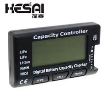RC CellMeter-7 цифровой проверки емкости батареи LiPo LiFe Li-Ion Nicd NiMH тестер напряжения батареи проверка сотового телефона 7