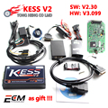 Wholesale price KESS V2 V3.099 V2.30 MASTER OBD2 Manager Tuning Kit No Token Limitation free ECM Titanium software Free Shipping